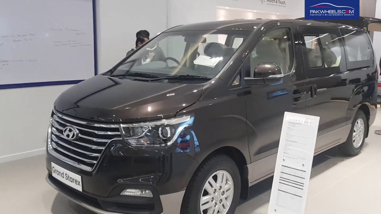 Hyundai Grand Starex 2019 First Look Price Specs Features Pakwheels