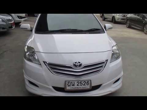 รถเก๋งมือสอง รถราคาถูก TOYOTA (โตโยต้า วีออส) Vios E สีขาว ปี 2010 เกียร์ออโต้#UC72