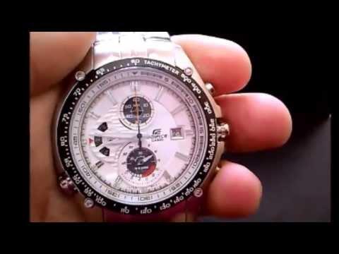 dfa50d192bd3 Casio Edifice Ef 543 d 1 av Sebastian Vettel - YouTube