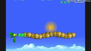 Игра летающие растения против зомби