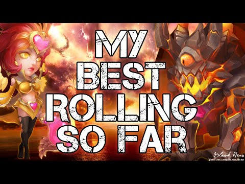 Castle Clash: Must Watch! The Best Rolls of My Life!!! Thank You $100!
