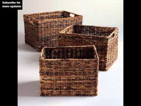 Great Wicker Storage Cube | Woven Storage U0026 Baskets Collection