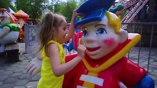 Влог! Парк развлечений для детей.