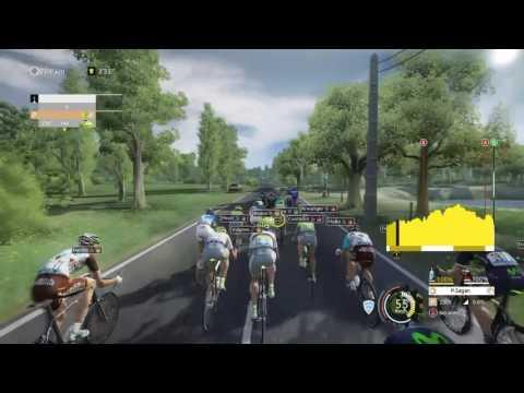Tour de France 2016 - PS4 - Stage 4 - [ Samour - Limoges ] - Sagan Favorite?