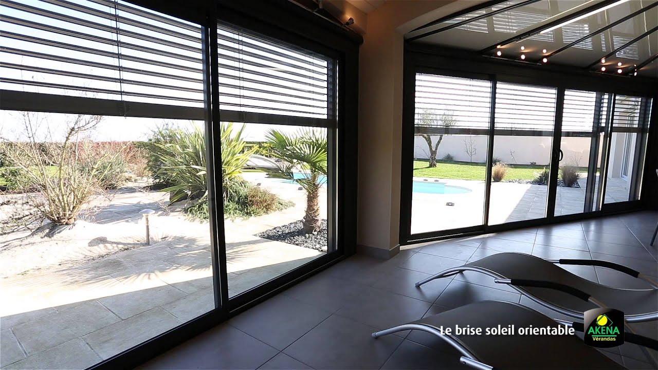 brise soleil orientable youtube. Black Bedroom Furniture Sets. Home Design Ideas