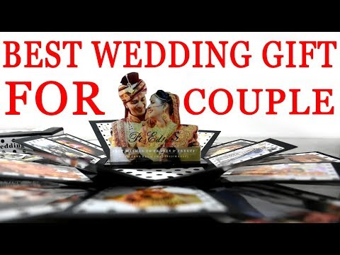 wedding gift for couple | Explosion Box | Hexagon Shape | PT Edics Gifts