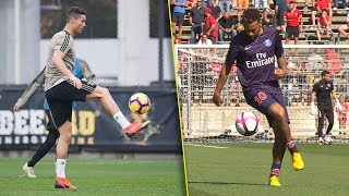 Cristiano Ronaldo Vs Neymar Jr FREESTYLE Battle 🔥