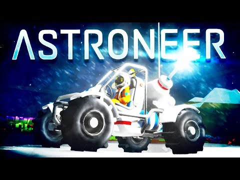 Astroneer - NEW Rover Update! - Unlocking the New Rovers & Building a Huge Base - Astroneer Gameplay