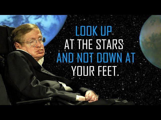 Stephen Hawking's Inspiring Last Words on the Importance of Science
