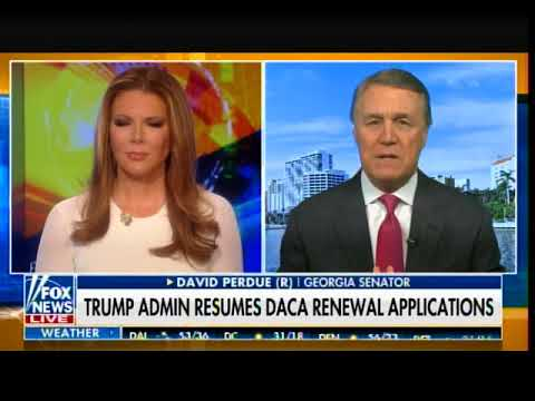 Senator David Perdue: 72% of Americans want to End Chain Migration