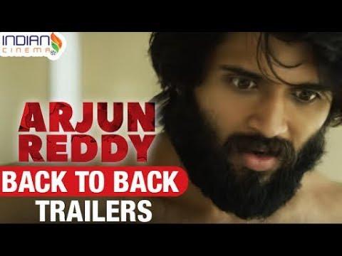 Arjun Reddy Back to Back Trailers | Vijay Devarakonda | Shalini | 2017 Telugu Movie | Indian Cinema