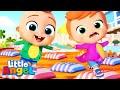 The Floor Is Lava | Little Angel Nursery Rhymes and Kids Songs