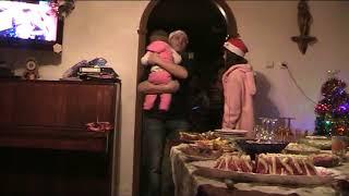 новый год встреча Нового года в простой Российской семье