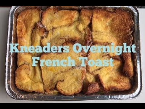 KNEADERS OVERNIGHT FRENCH TOAST | Christmas Baking Tutorial | *How Ines Rolls*