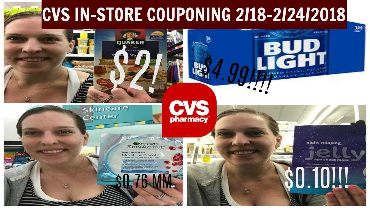 CVS Moneymaker Extra Gum, $0 10 Clean & Clear, $4 99 Budlight