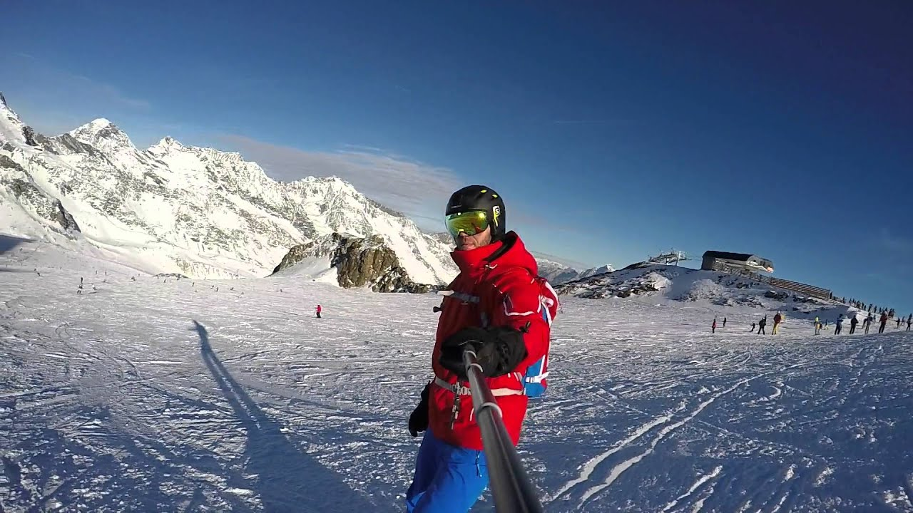 Stubai skiing - december 2015 by gopro hero 4 black