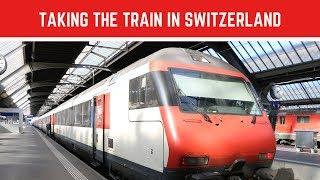 Gambar cover How to ride the train in Switzerland