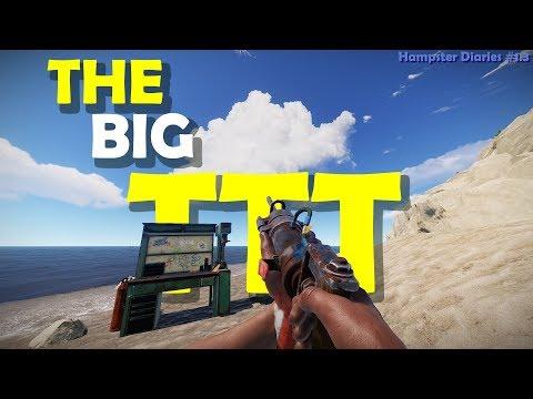 The Big TTT - Rust Solo Survival - Hampster Diaries #1.3 thumbnail
