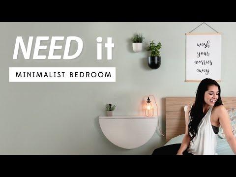 Minimalist Bedroom Decor | Need It