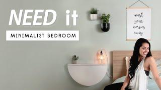 Minimalist Bedroom Decor   Need It