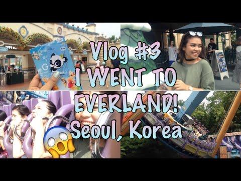 Vlog #3 I WENT TO EVERLAND!? (Seoul, Korea)   Mykee Mae