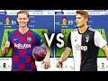 Barcelona 19/20 VS Juventus 19/20 - FIFA 19 Experiment