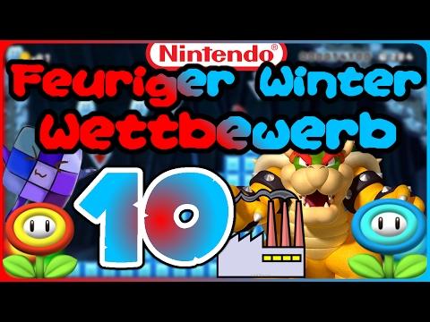 #10 Die globale Erwärmung! - Feuriger Winter Mario Maker Wettbewerb
