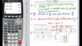Algebra 2 Final Exam Review 2015   Calculator Section