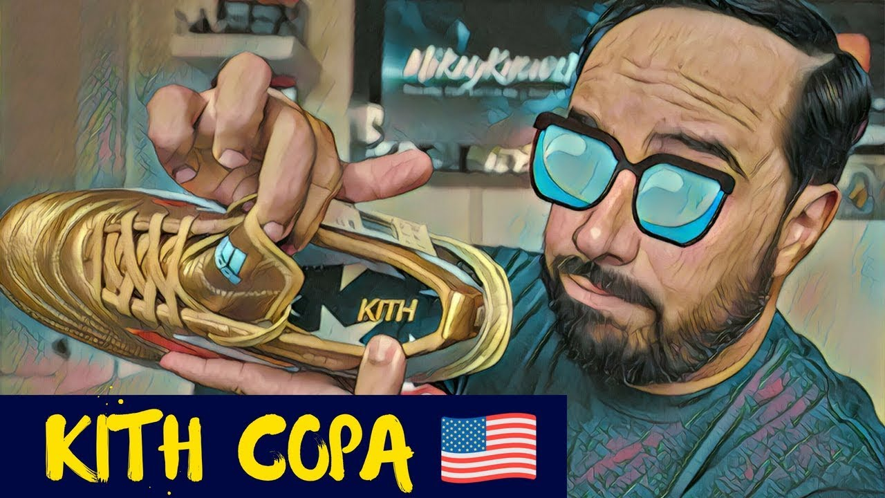best loved f51a2 3b088 KITH COPA 18+ ULTRABOOST 🇺🇸 UNBOXING  ON FEET