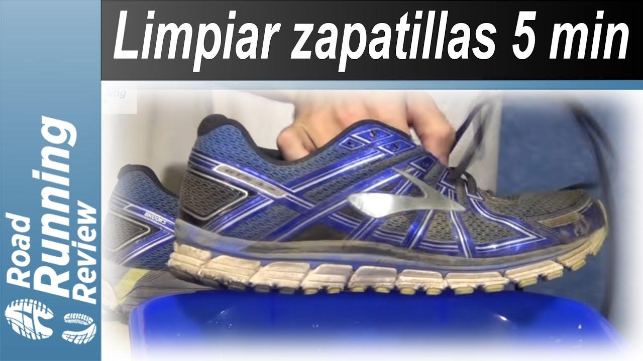 Como limpiar zapatillas de Running en 5 minutos