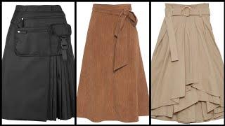 Top Designer Aline middi skirt…