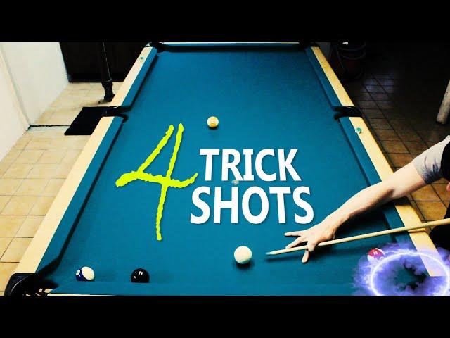 4 Pool Trick Shots: Volume 3