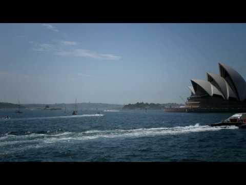 Australia Day 2010 Sydney Harbour Industrial TimeLapse