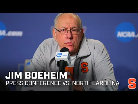 Jim Boeheim postgame vs. North Carolina
