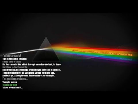 Tom Stoppard Incorporating The Darkside Of The Moon by Pink Floyd.