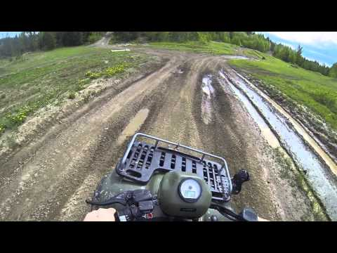 Unedited ATV Ride from Nechako River area to Hart Highlands