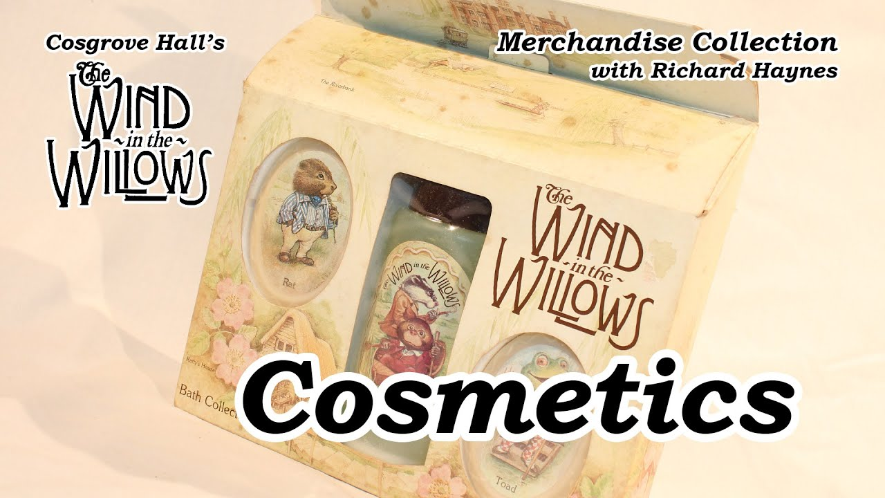Cosmetics (Merchandise of Cosgrove Hall's 'The Wind in the Willows')
