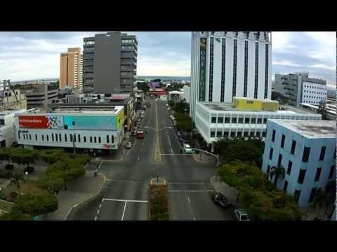 Aerial video Jamaica, Kingston quadcopter