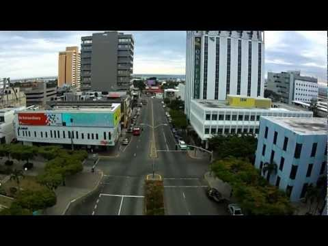 Aerial video Jamaica, Kingston quadcopter