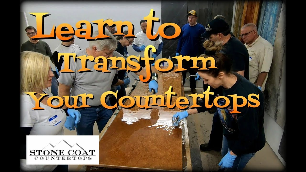 Learn to Transform Your Countertops Epoxy Training Class