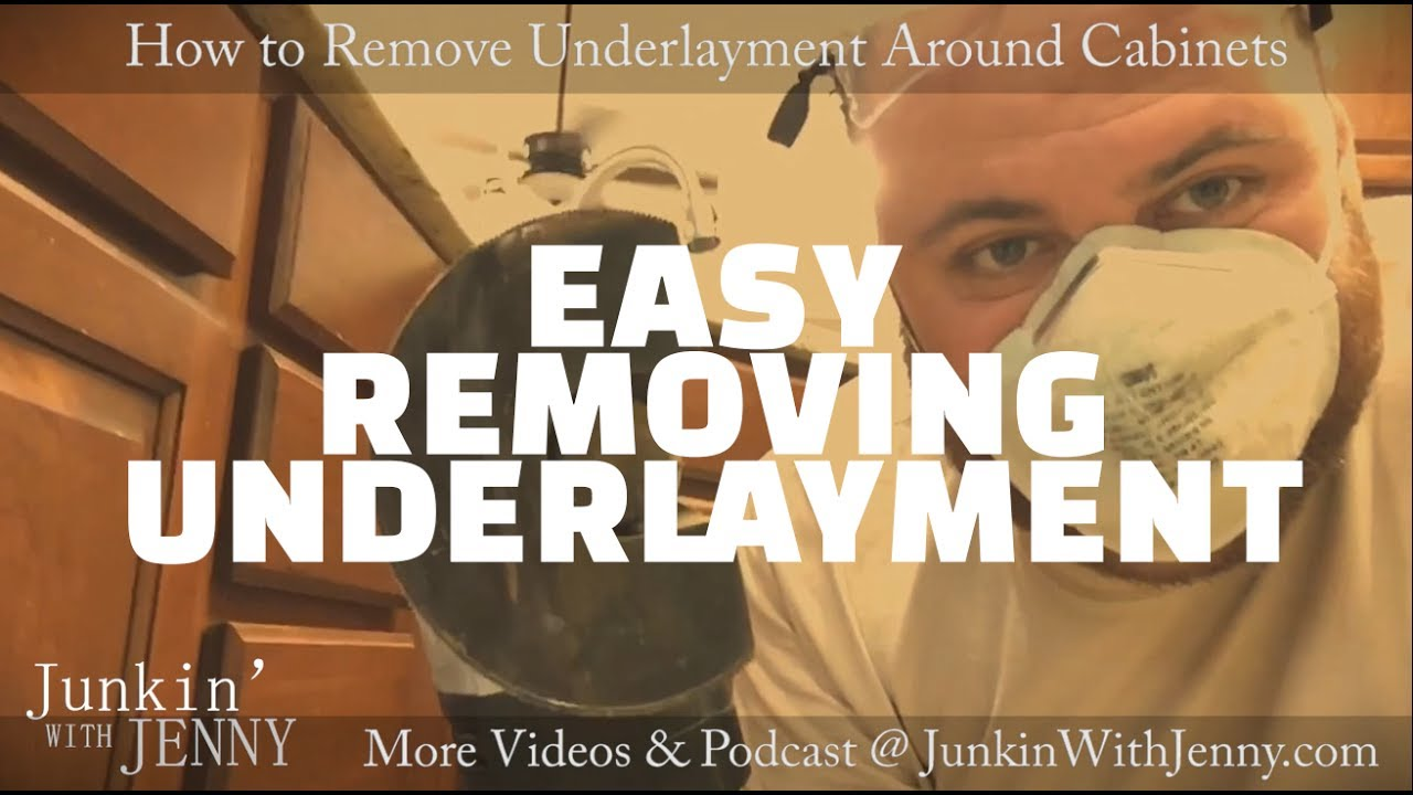 How To Cut Underlayment Subfloors Around Cabinets