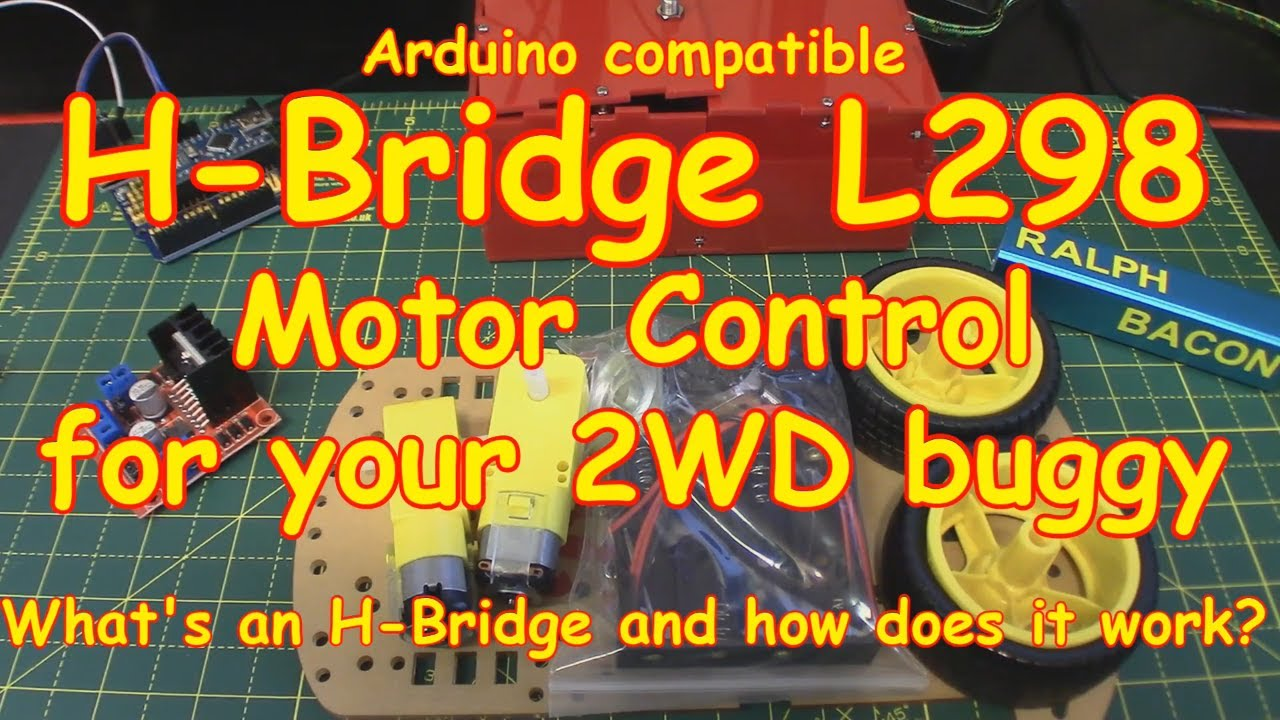 102 L298n H Bridge Motor Control How Does It Work Youtube Diagram Together With L298 Circuit Pin On