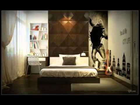 Diy cool room decorating ideas for guys youtube for Room design ideas men