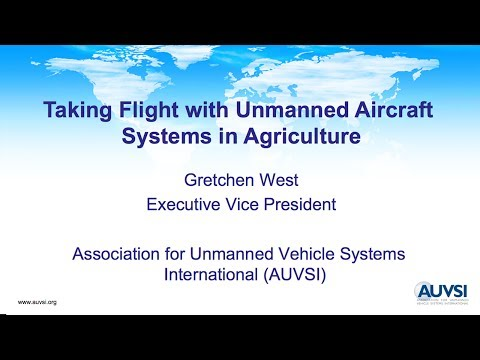 Webinar: Taking Flight with Unmanned Aerial Systems in Agriculture