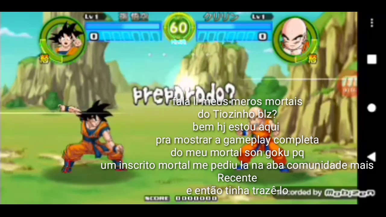 Bomba! Vazei a gameplay do Goku (char download) /Dbz the destiny of the universe