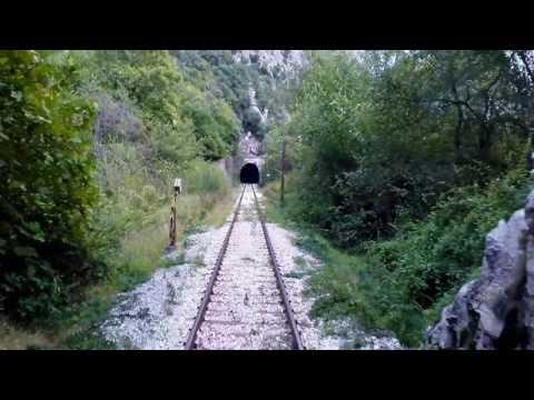 Travel Trains Greece to Bulgaria – Alexandroupolis to Kulata - the Nestos Gorge