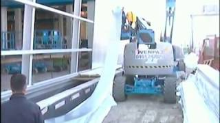 видео Остекление поликарбонатом монолитным