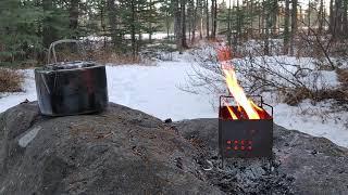 Relaxing Fire with tнe Firebox Nano, Jan.18.2021