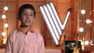 Brian le dedica su triunfo a su papá  | La Voz Kids 2016