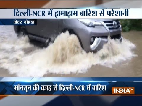 Fresh showers in Delhi/ NCR triggers waterlogging in several areas
